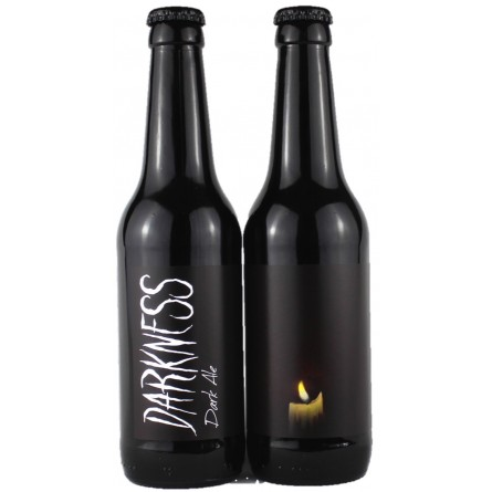 DARKNESS packs de 6, 12 y 24 cervezas